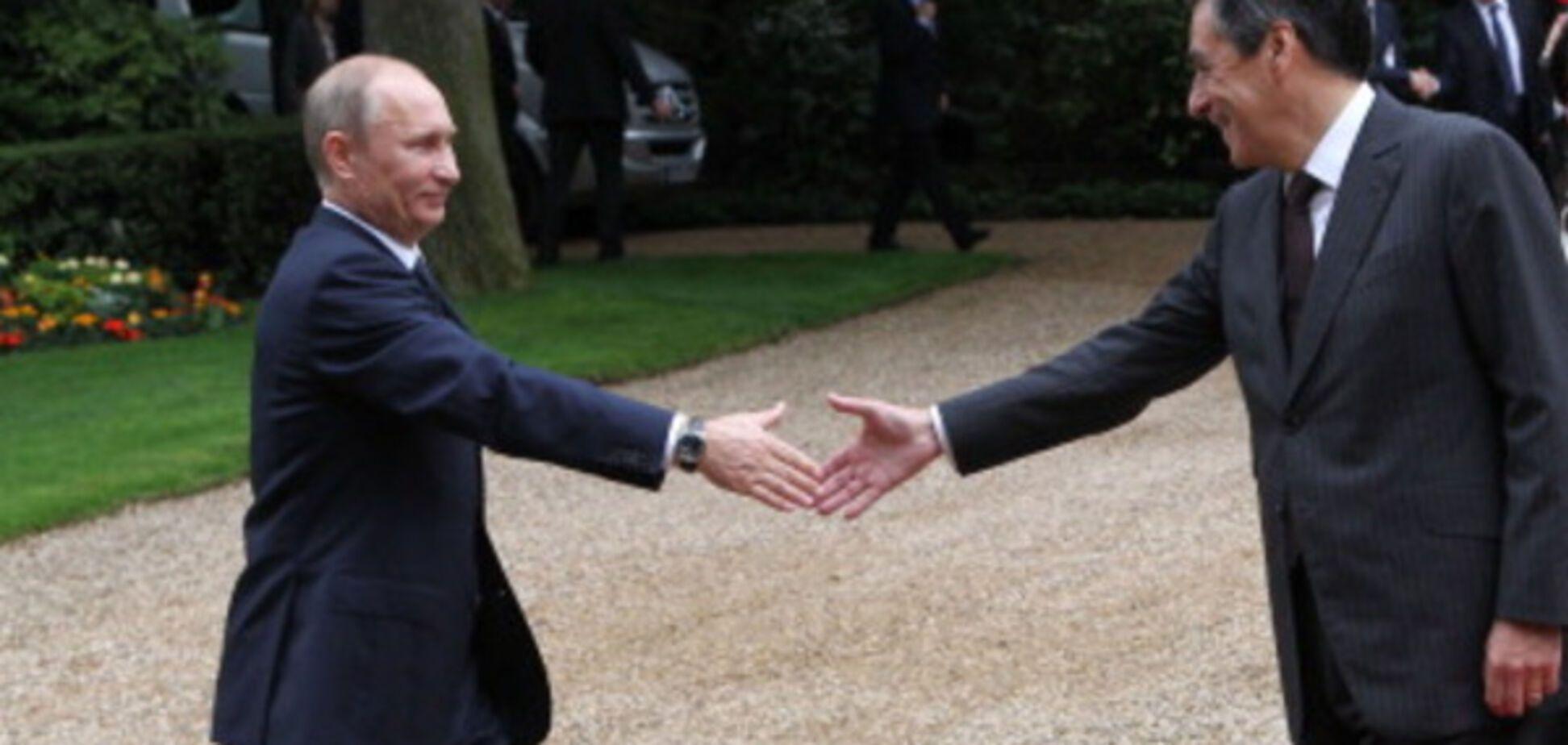 Путин и Фийон