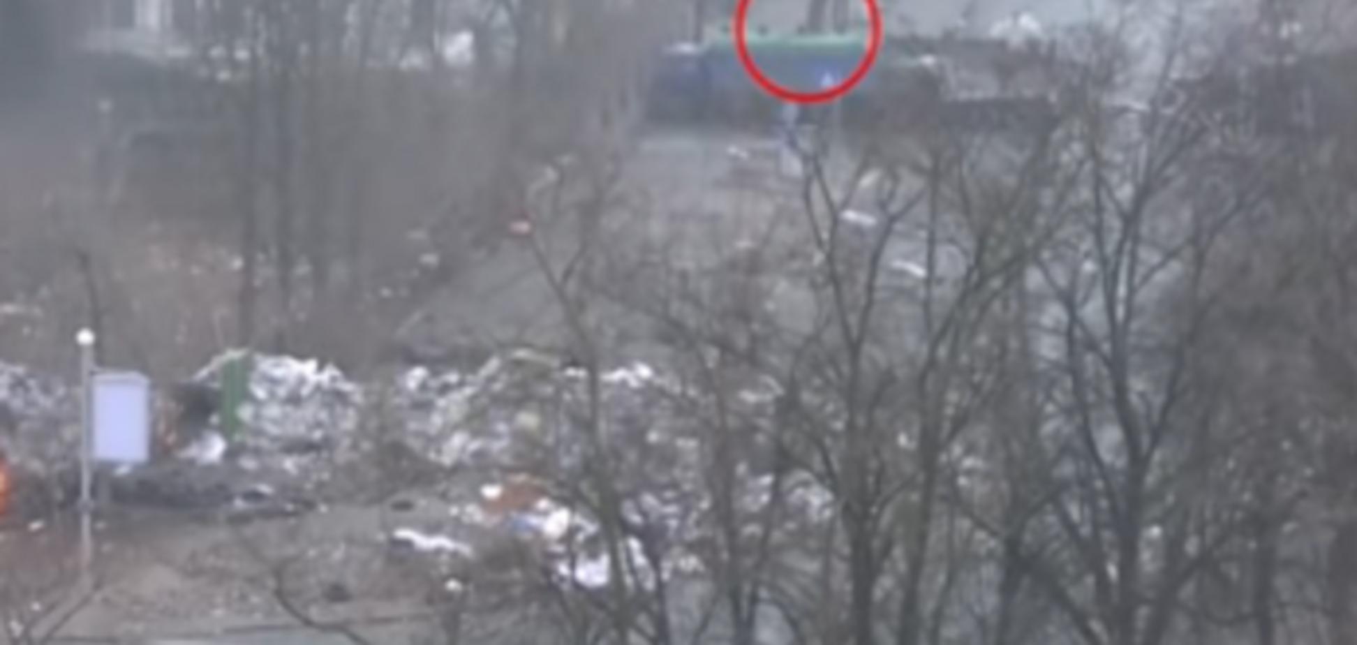 Расстрел Майдана 20 февраля