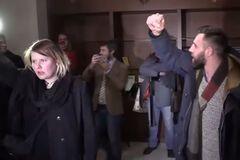 Срыв пресс-конференции по Украине в Минске: провокатор задержан