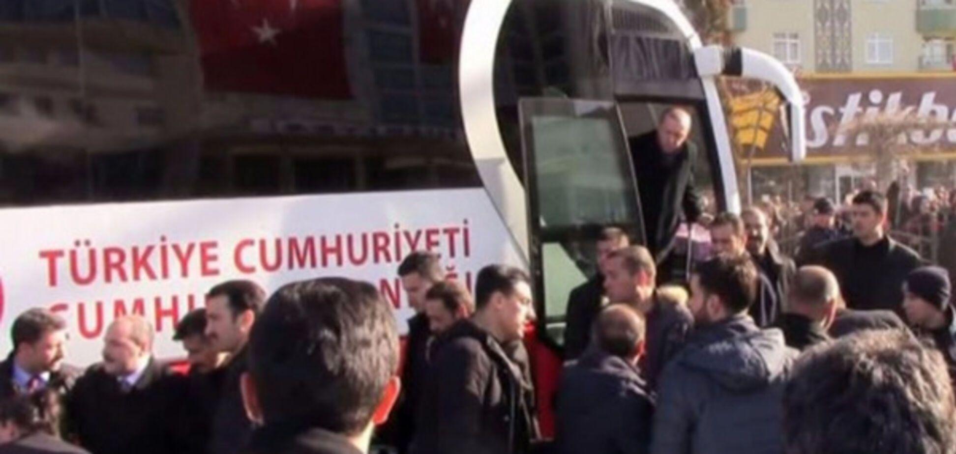 Ердоган врятував охоронця