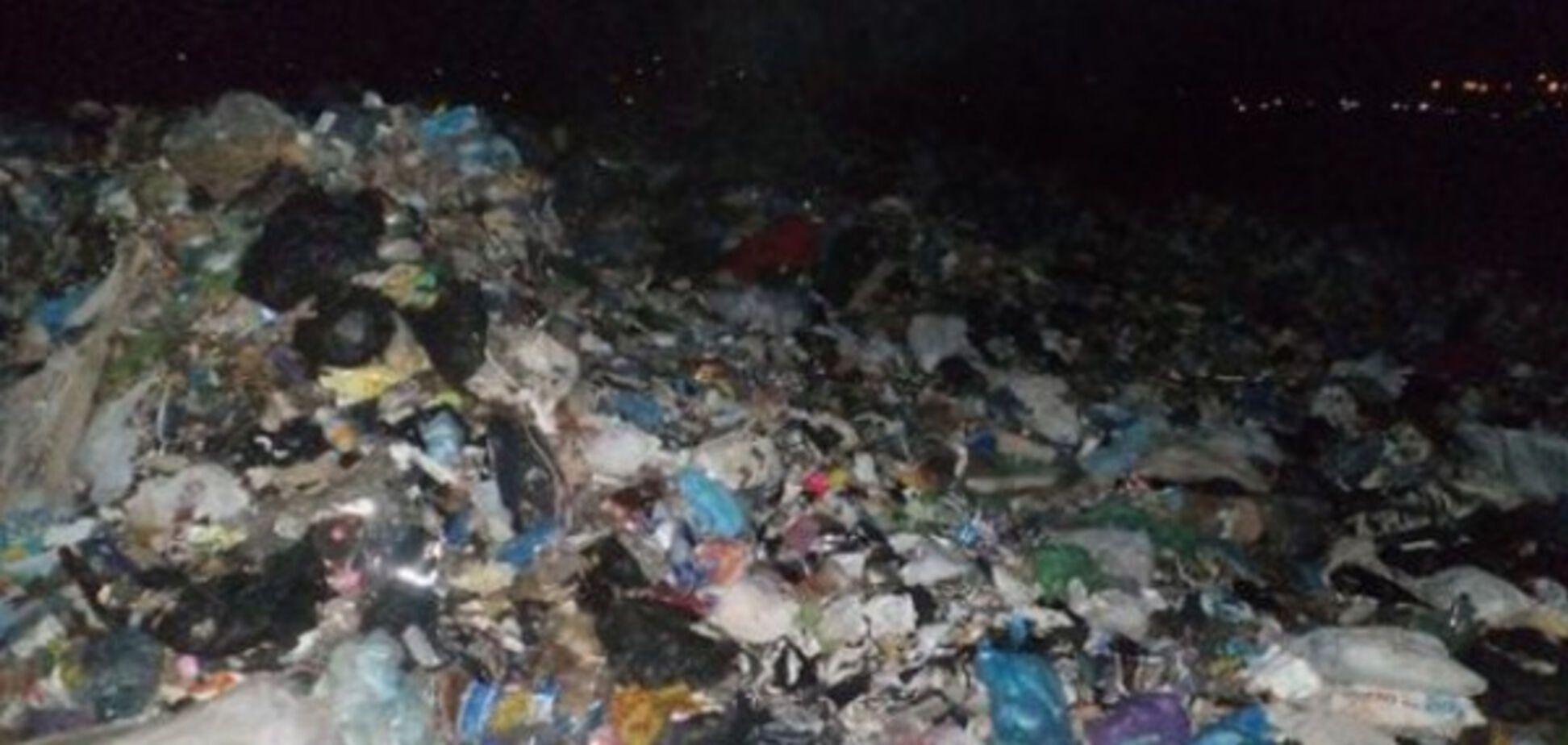 Львовский мусор в Запорожской области