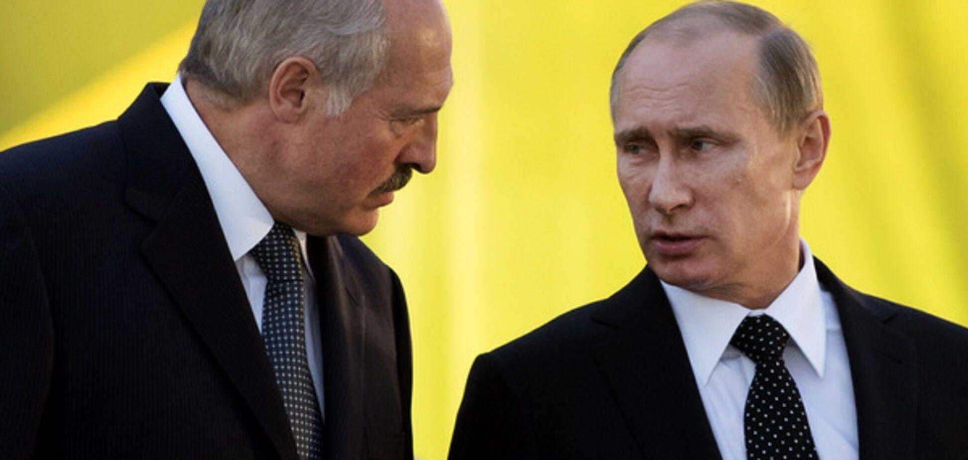 Путин и Лукашенко: милые бранятся – только тешатся