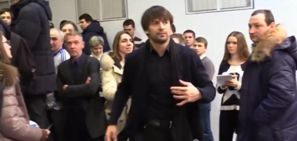 Олексадр Шовковський прес конференція