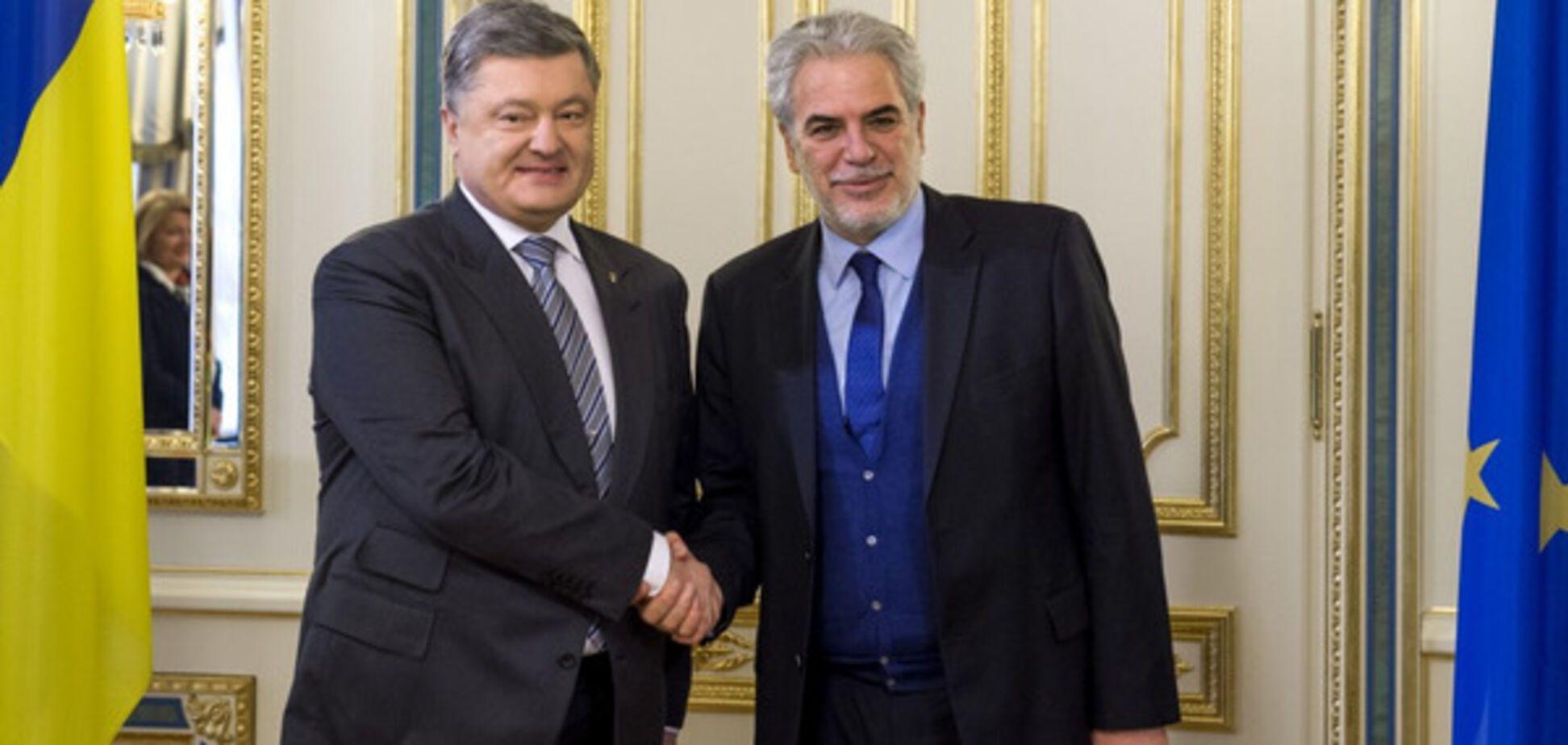 Петро Порошенко і Христос Стіліанідес