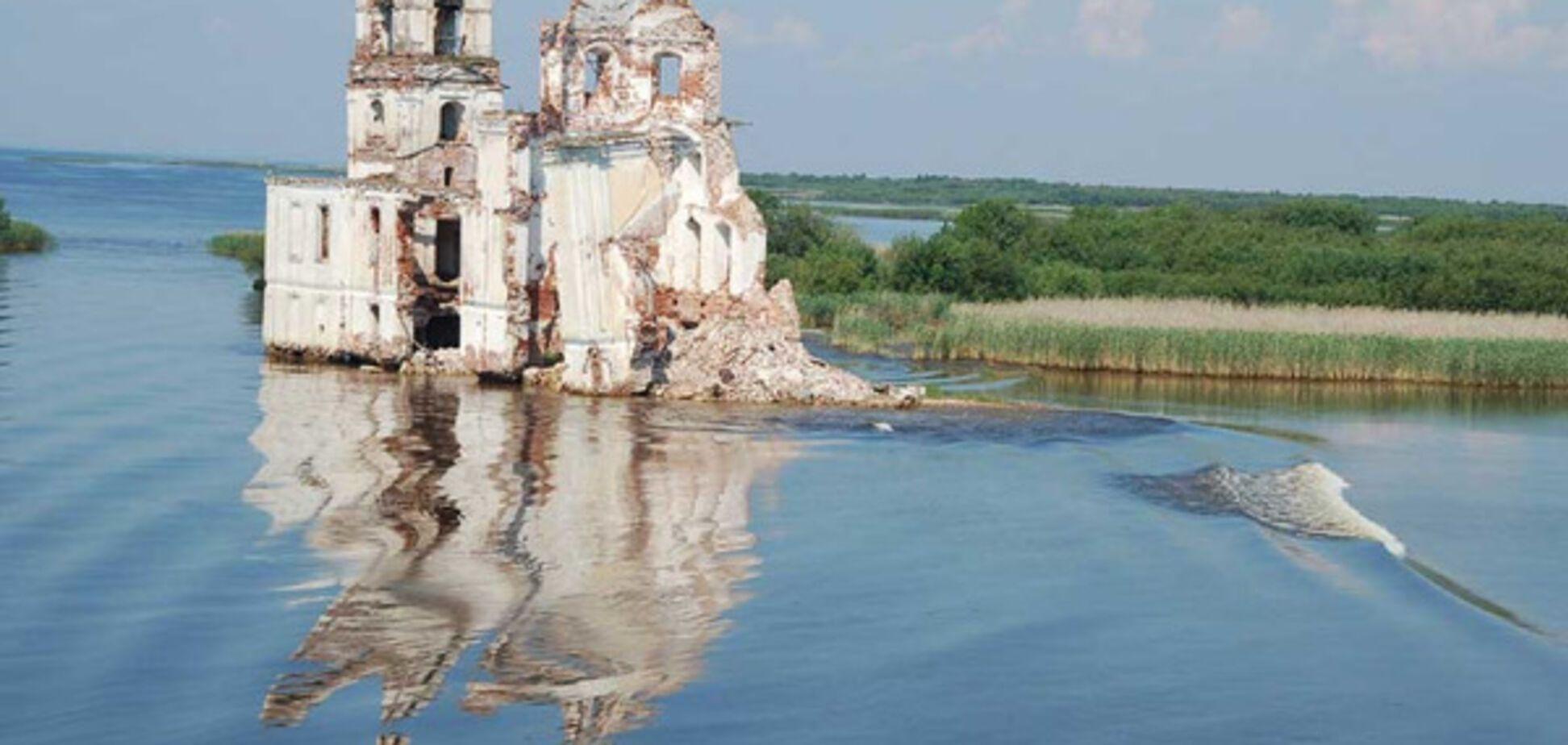 Затопленное место, Россия