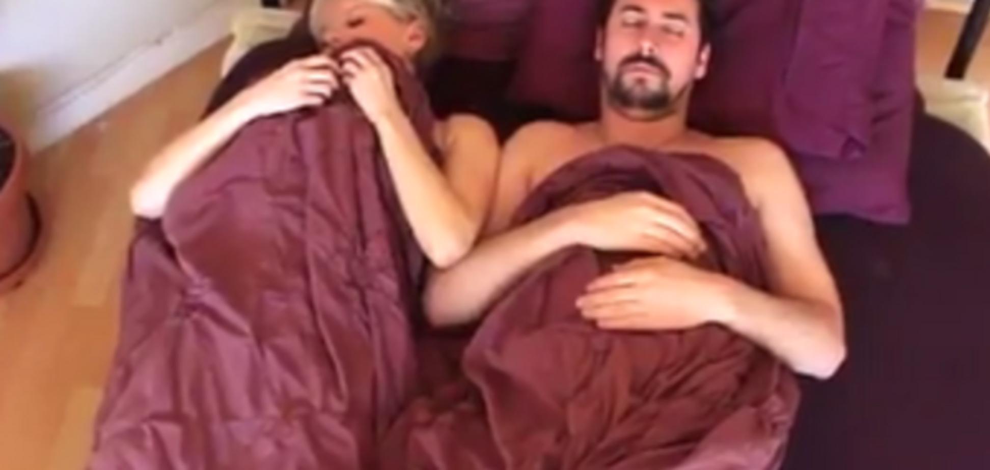 Кровать, люди