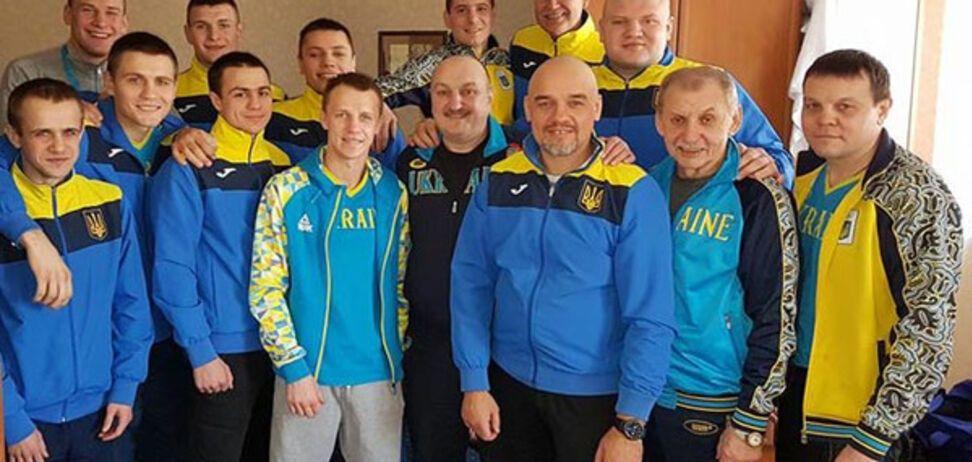Збірна України з боксу