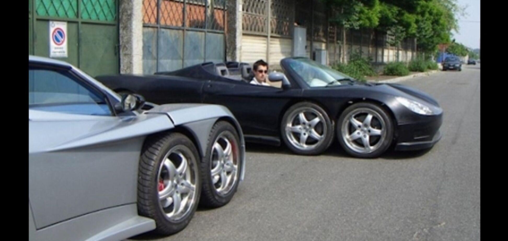 Самые необычные шестиколесные автомобили
