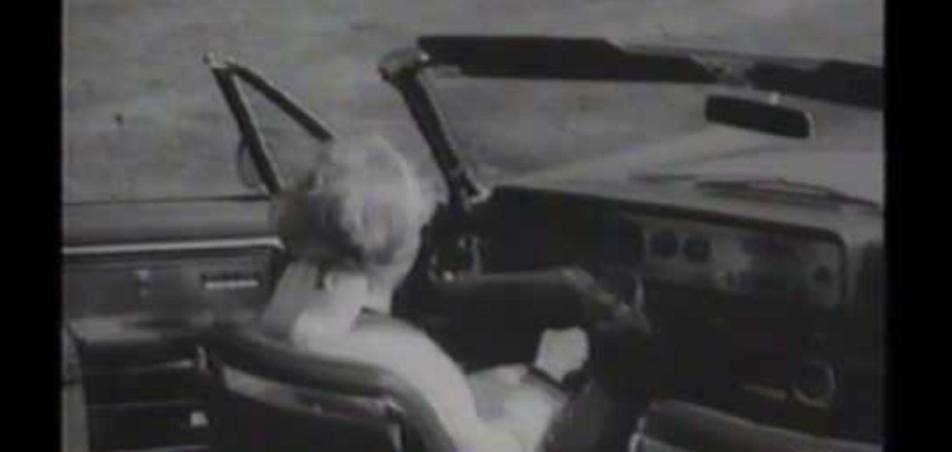 Необычный руль от Форда, который так и не пошел в серию