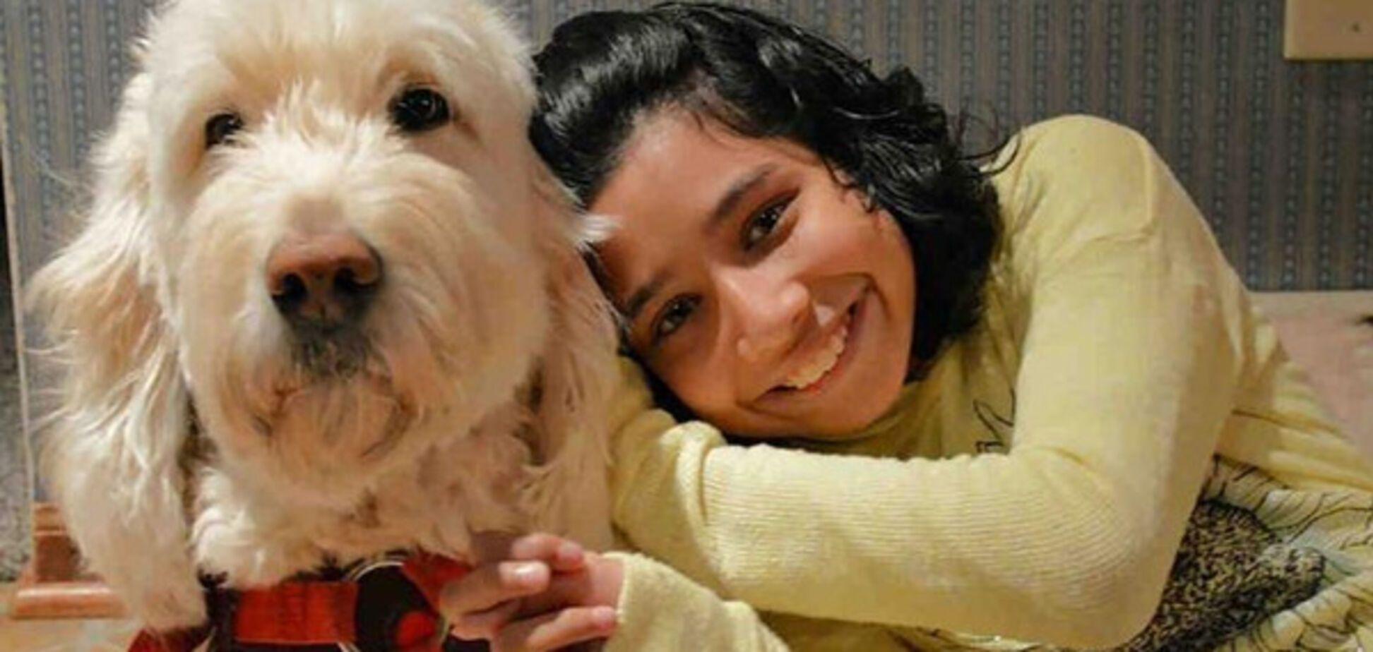 Надевает на ребенка пальто: история с собакой и больной девочкой в США получила развязку