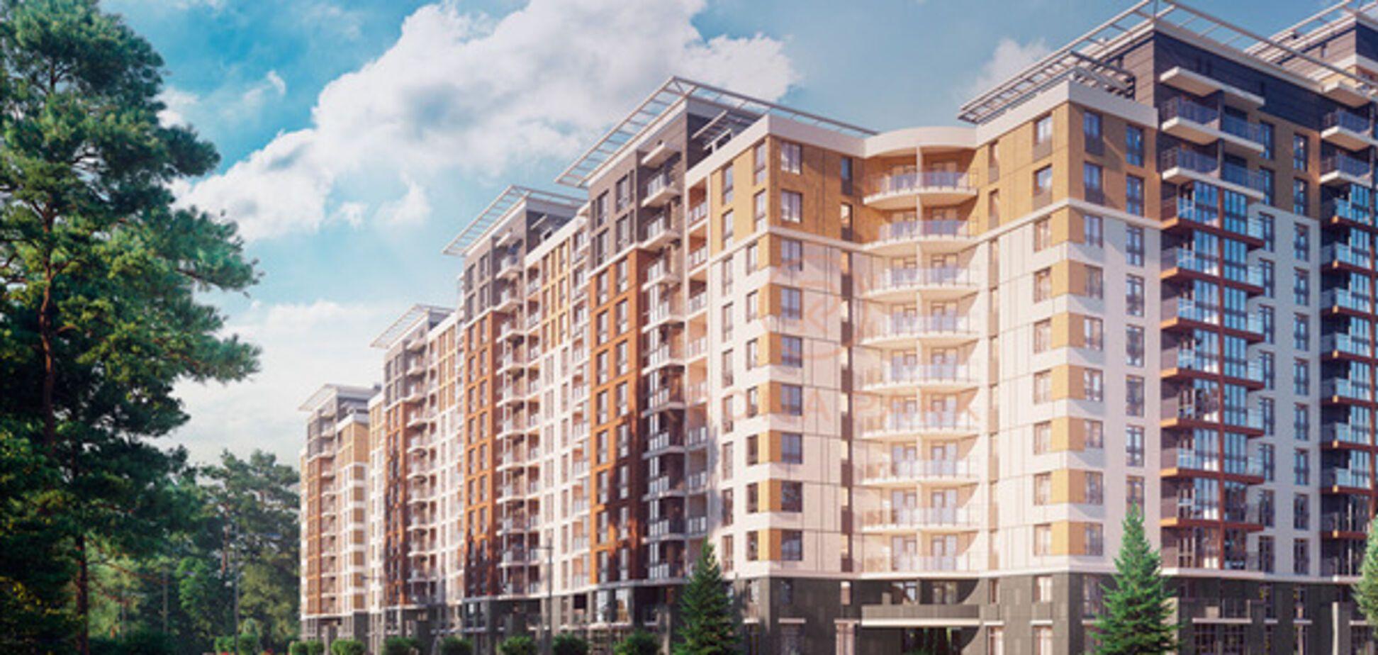 В Броварах жилой комплекс Krona Park 'встроят' в лес