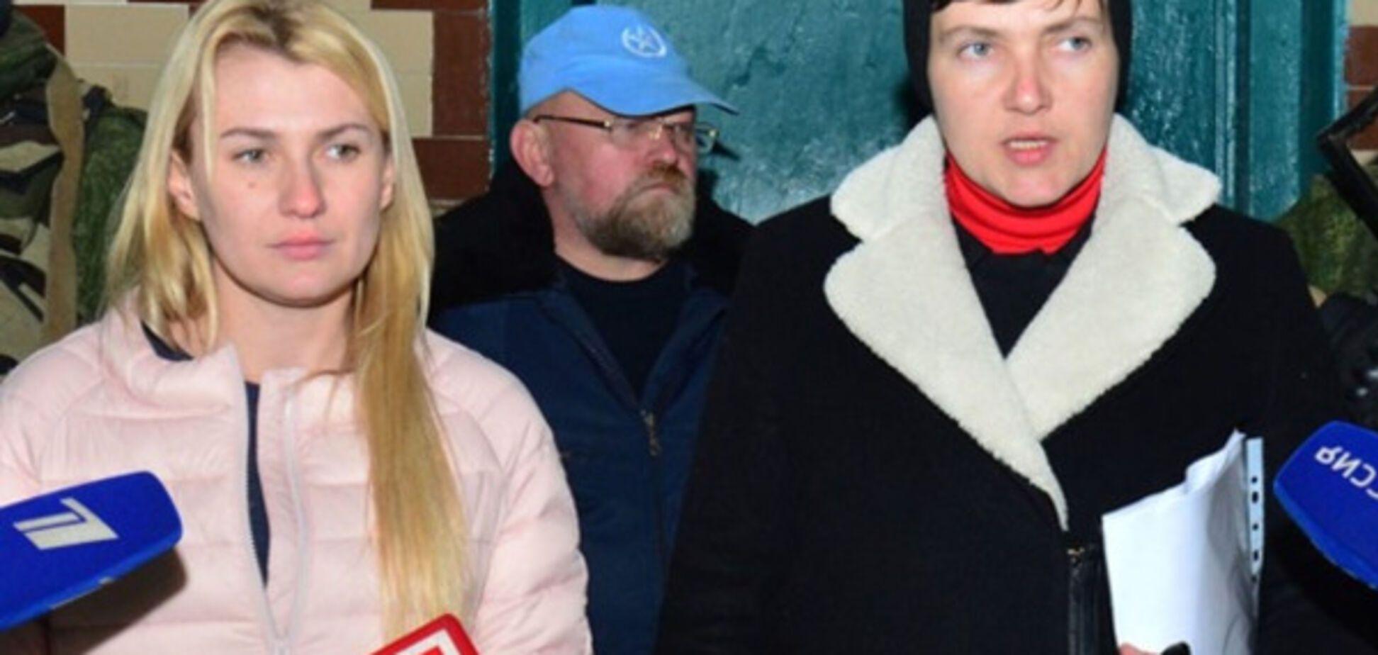 Надюха-депутат в Макеевской зоне - это уже больше, чем за гранью...