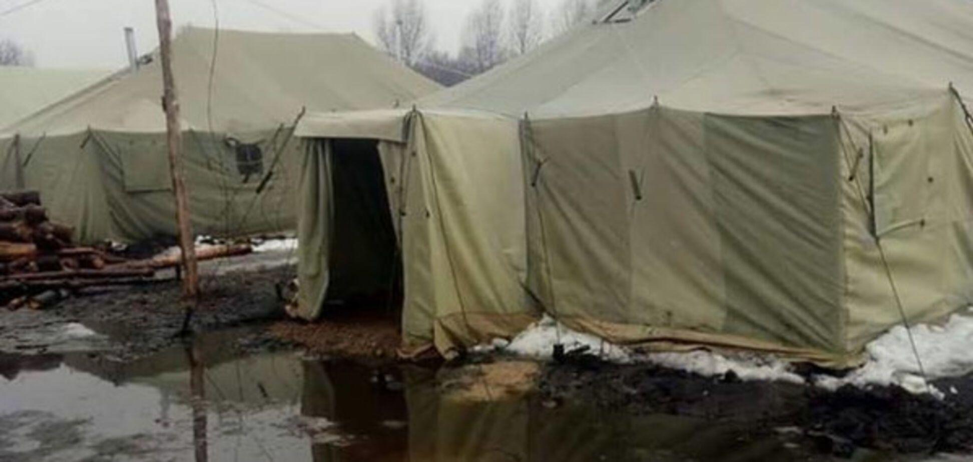 И это на 4-й год войны! Волонтер рассказал о продолжении скандала с палатками на полигоне