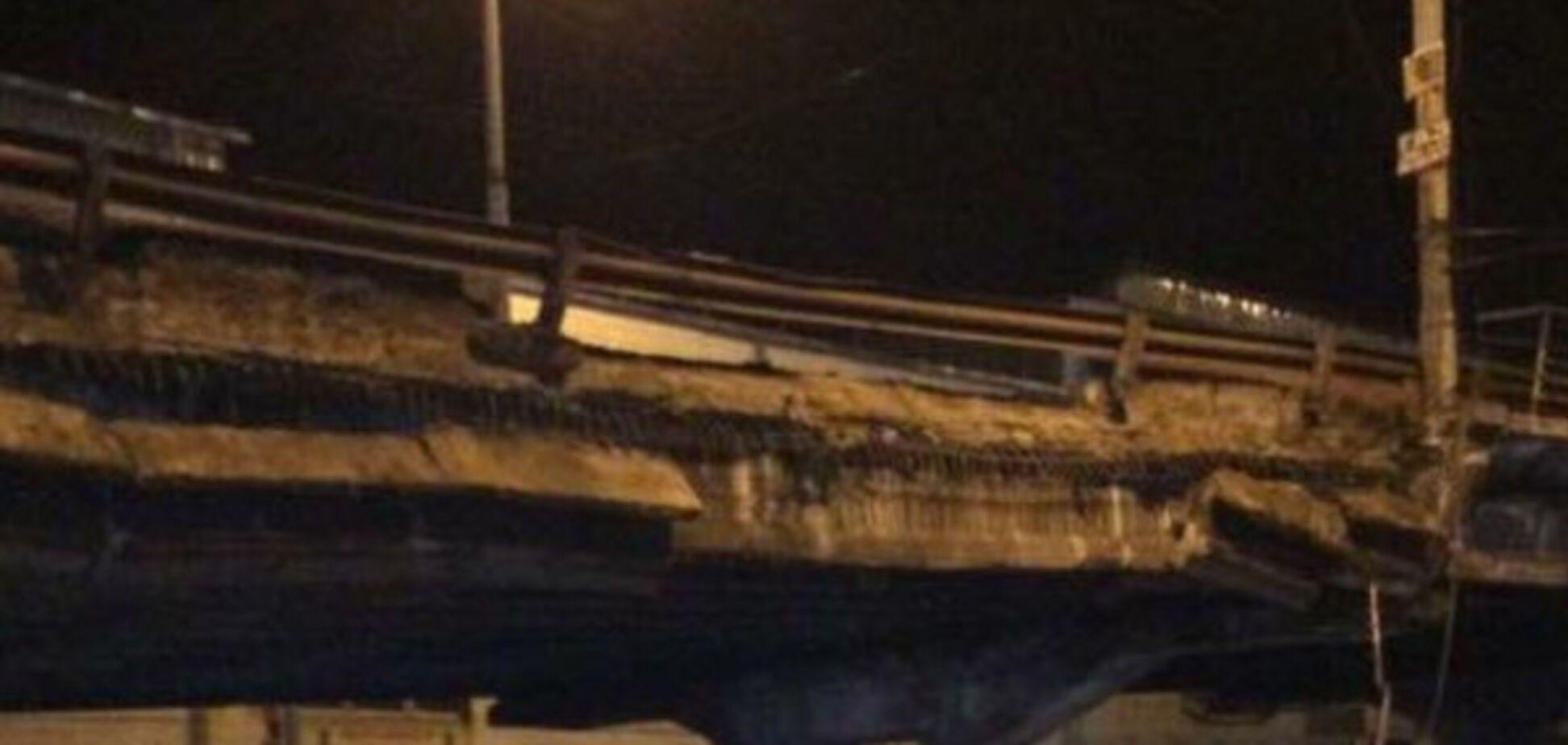 Обрушение моста в Киеве: журналист указал на грубый 'пролет'