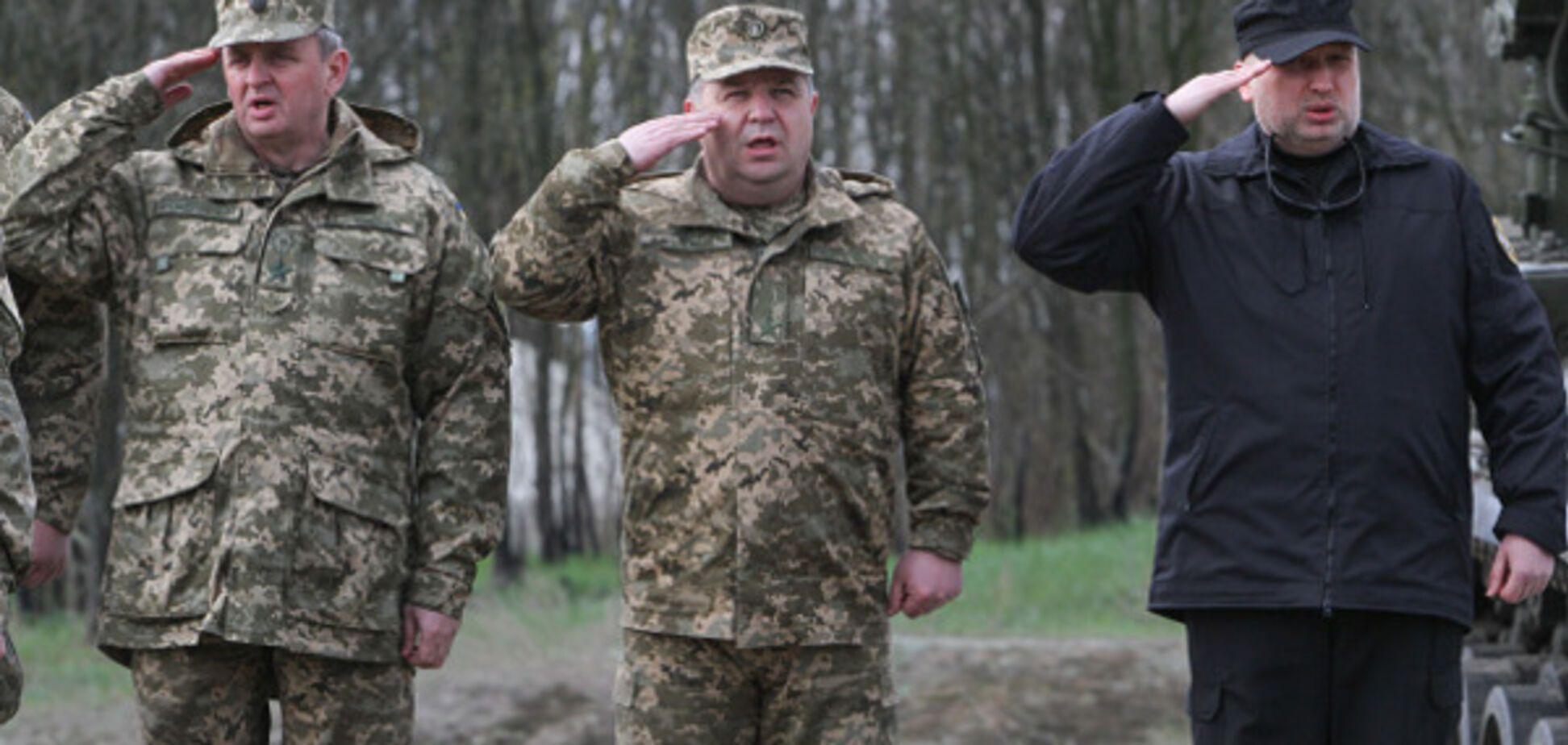Муженко, Полторак, Турчинов