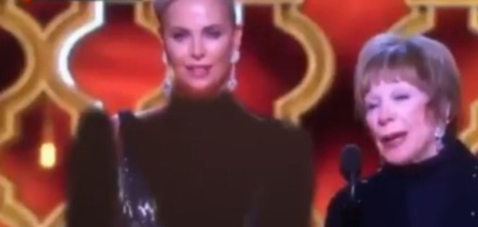 Цензура декольте на Оскаре