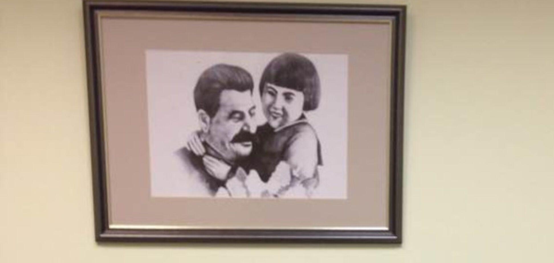 Сталин и Энгельсина Маркизова