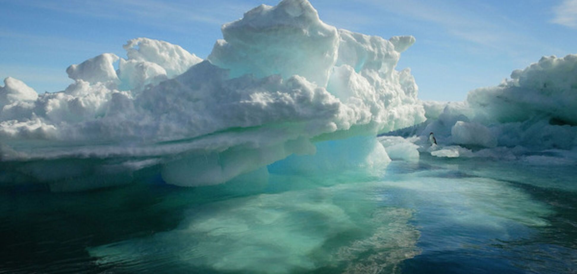 Антарктида, лед