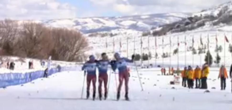 російські лижники