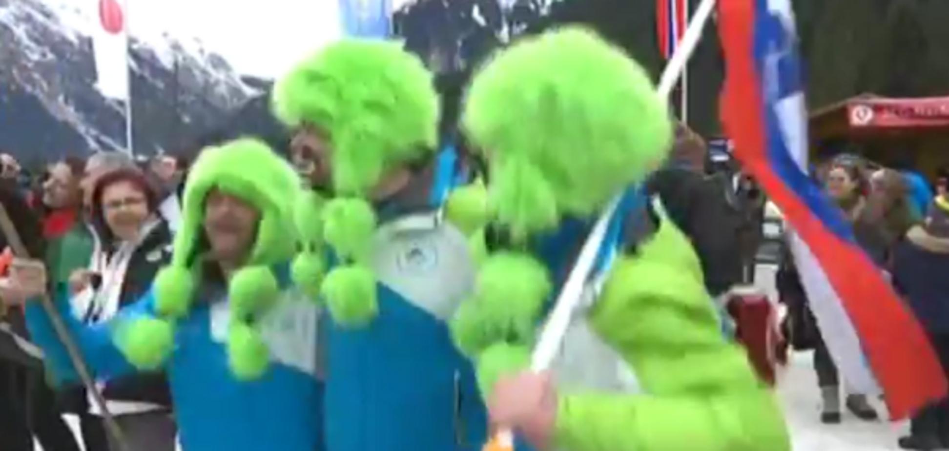 Фани збірної Словенії