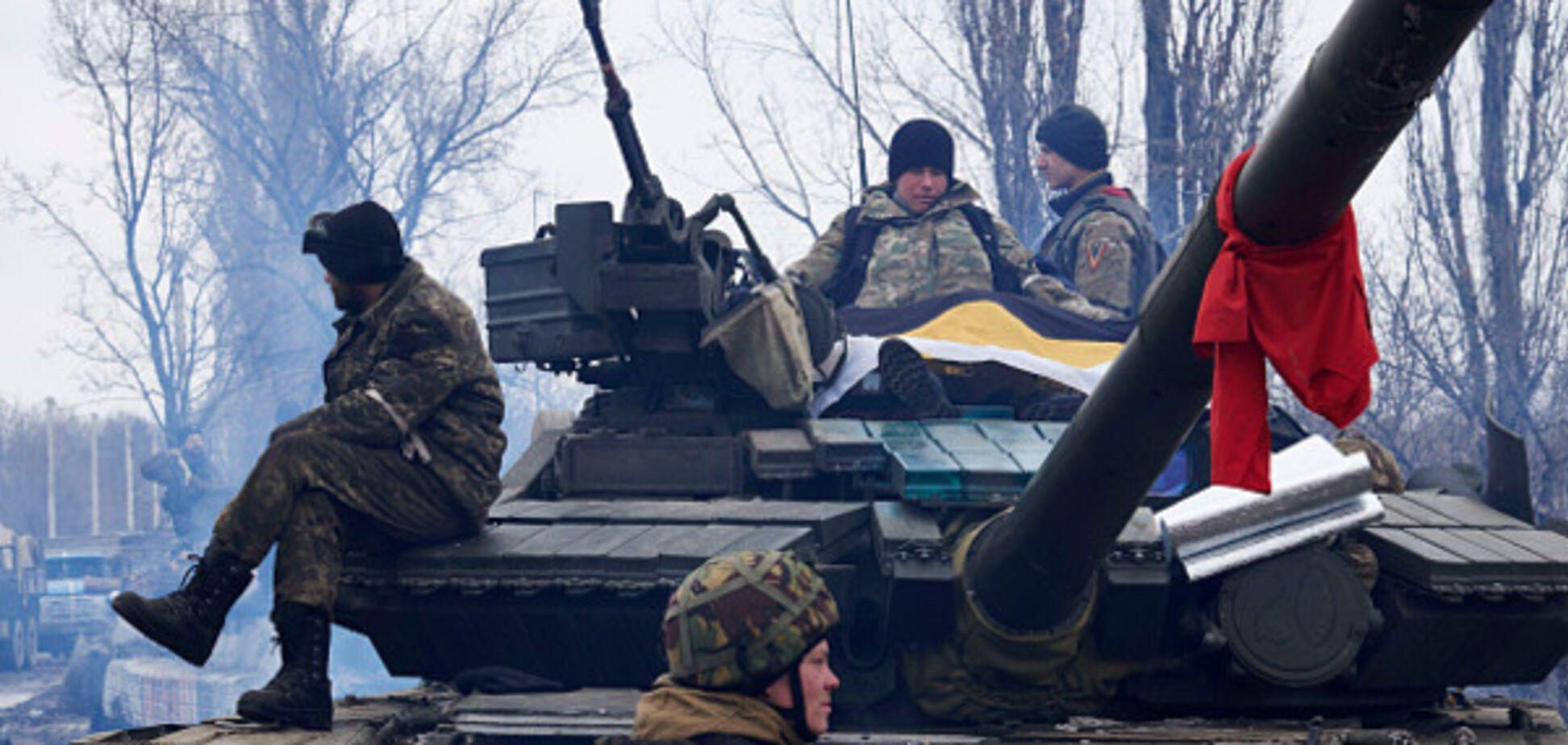 Наступление на Донбассе