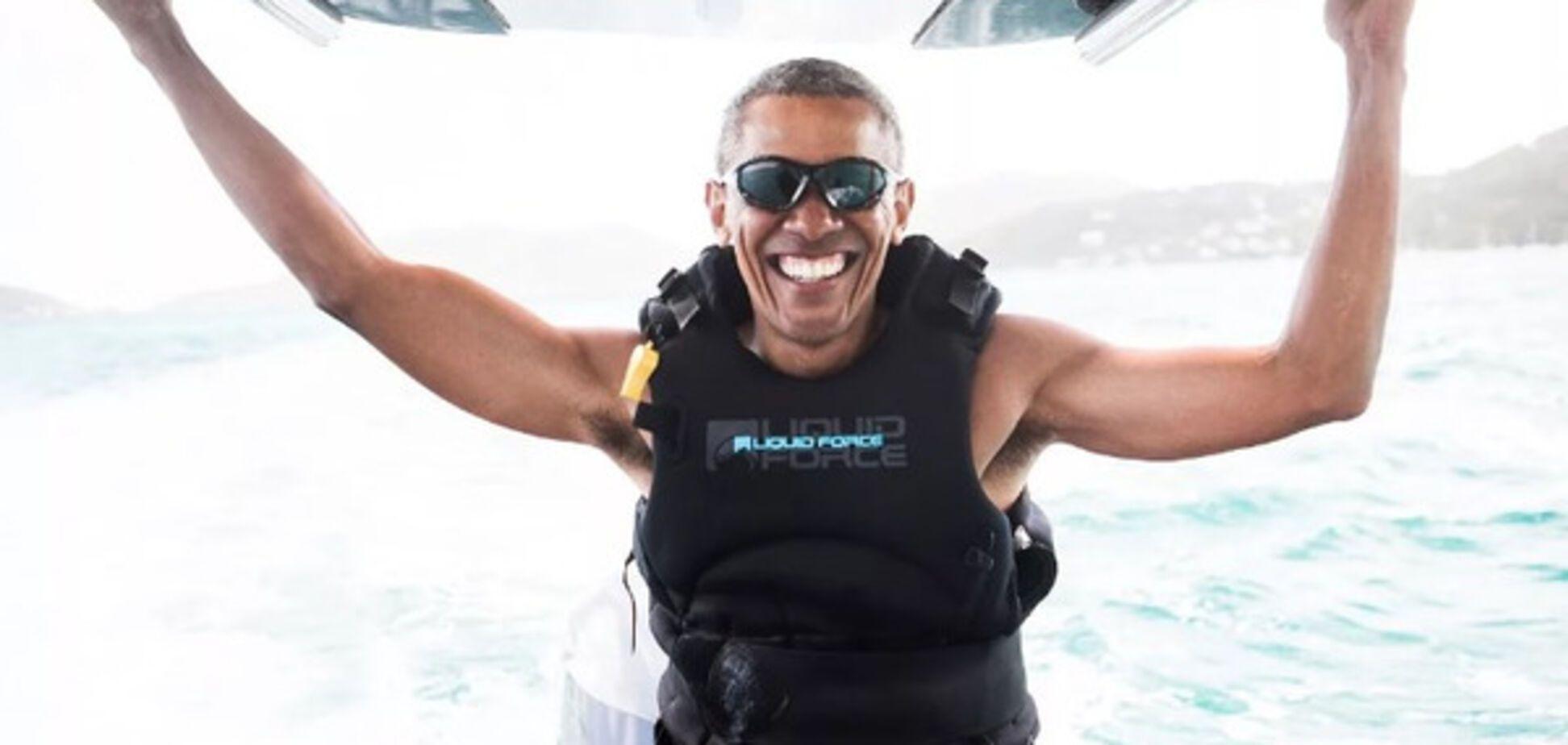 Обама на отдыхе