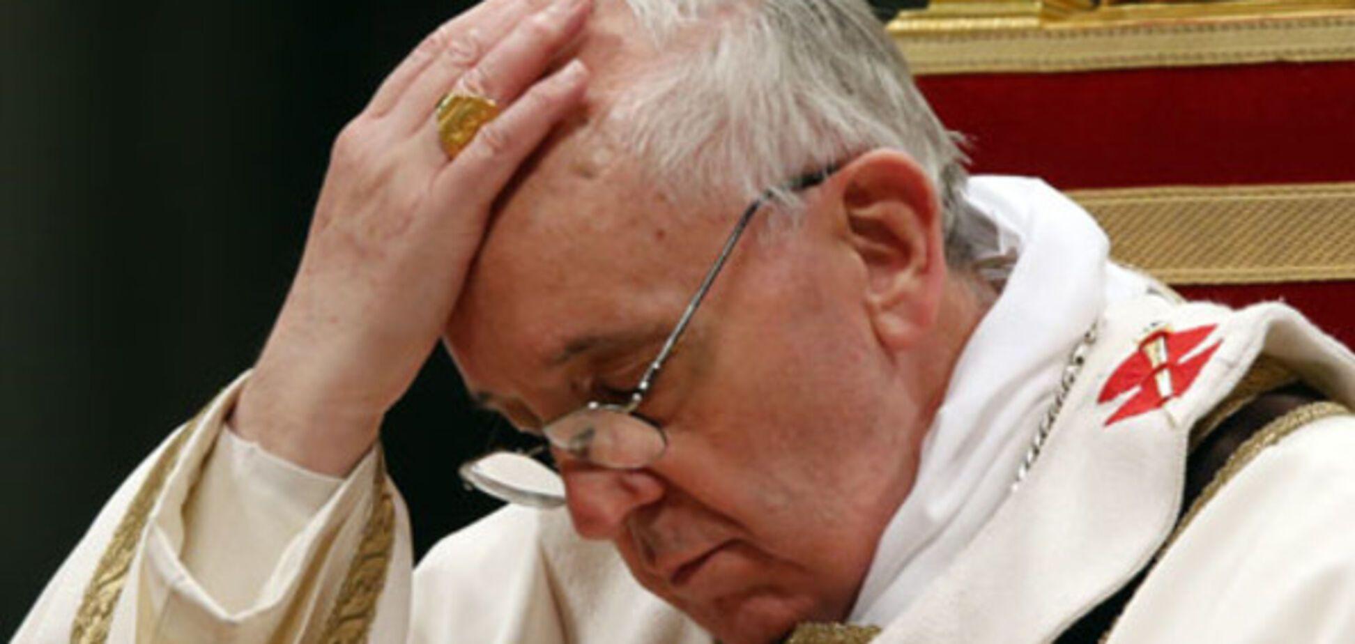 Папа Римский по-запорожски (ФОТО)