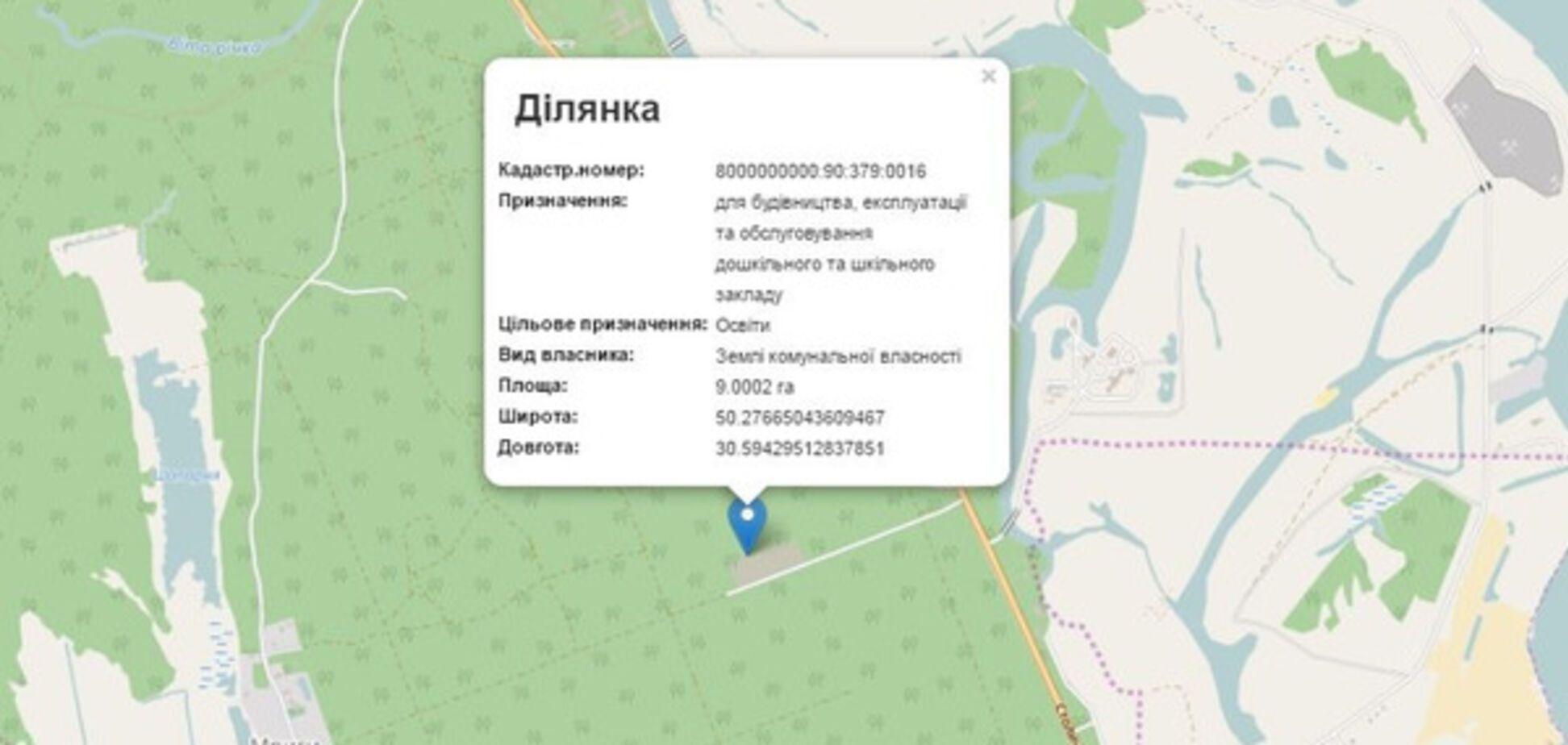 Земельный участок в Конче-Заспе