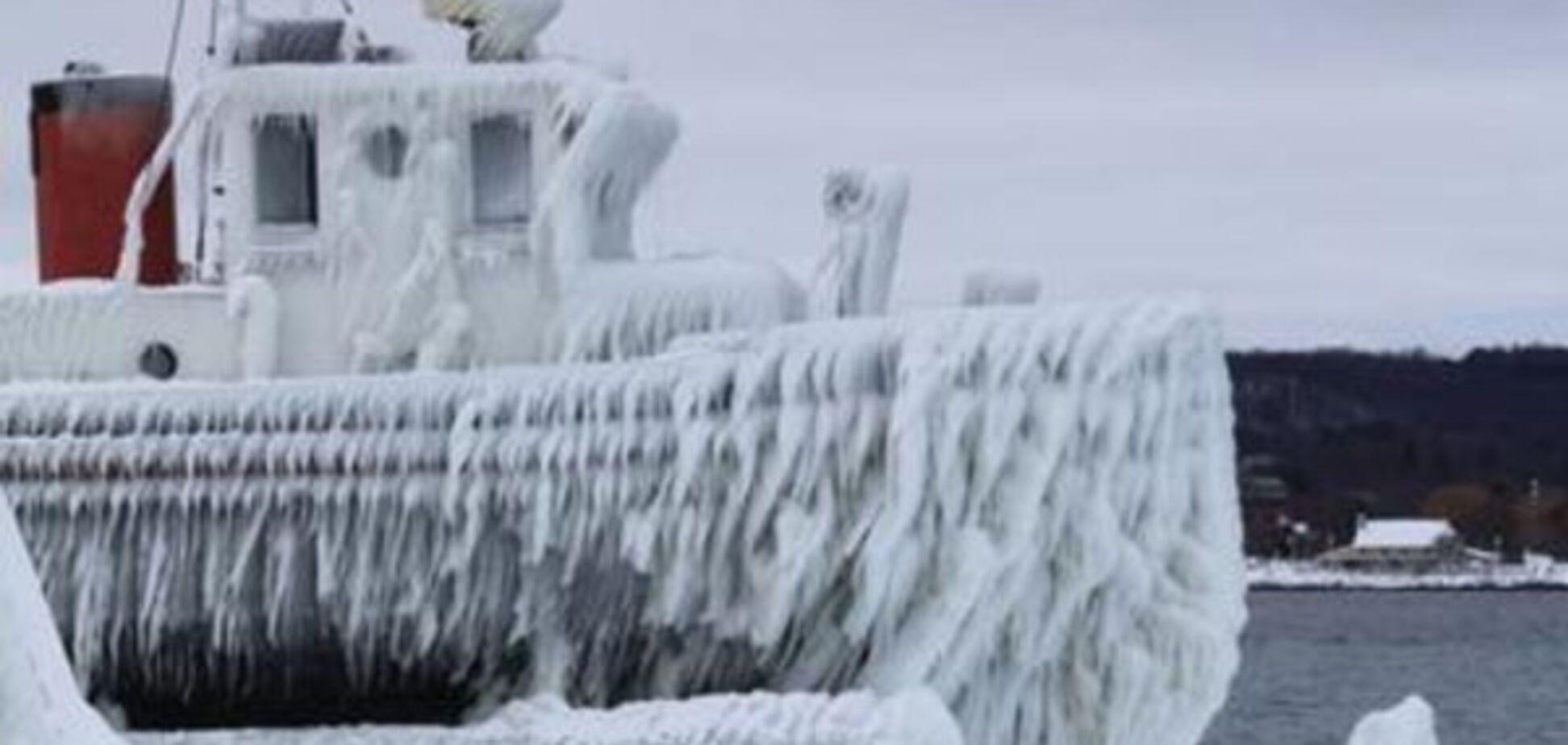 В Азовском море ожидают обледенение кораблей