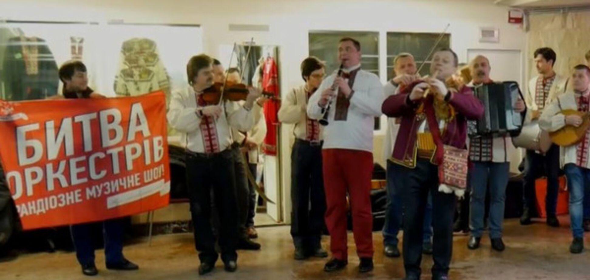 Украинский оркестр сыграл на косах эпохи Тараса Шевченко