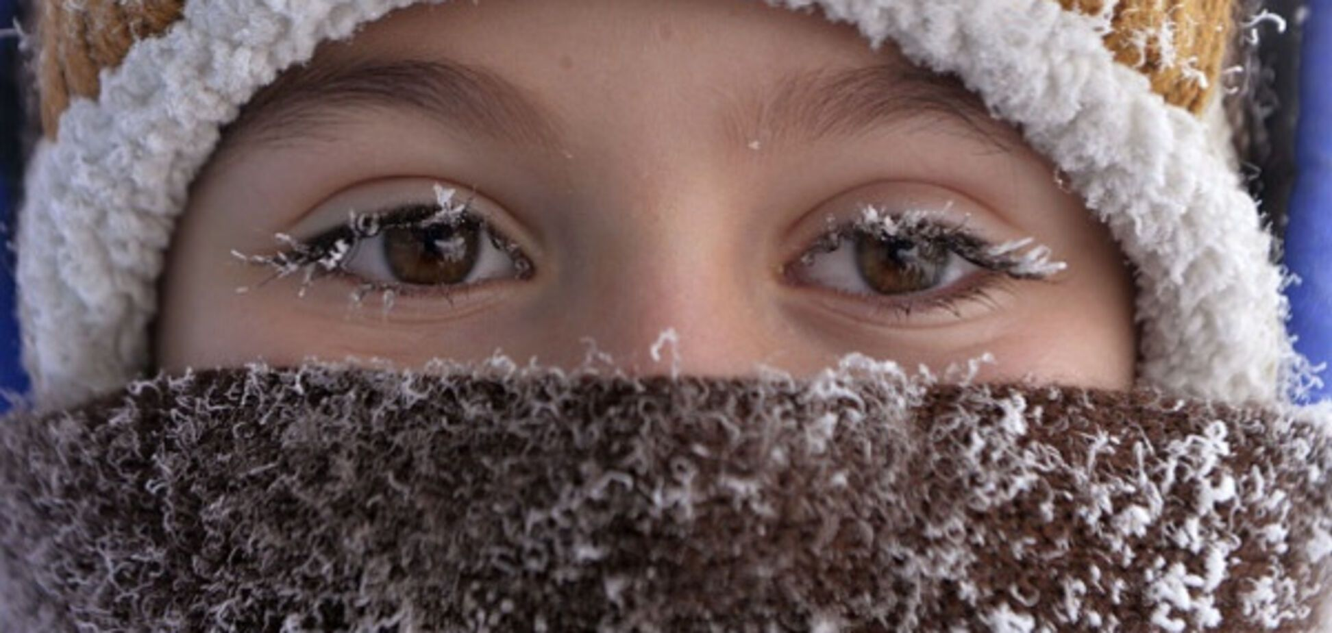 мороз зима