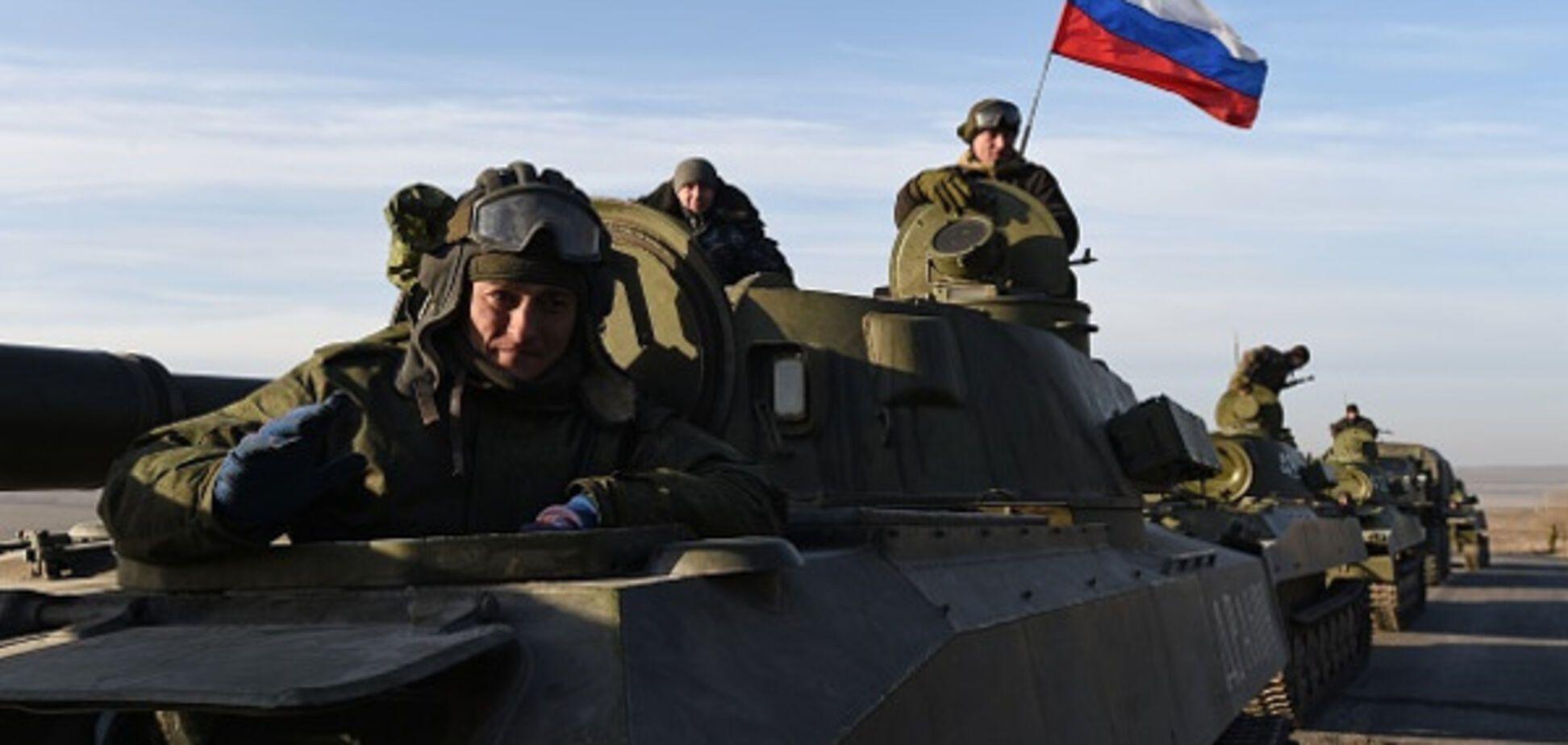 Российская армия на Донбассе