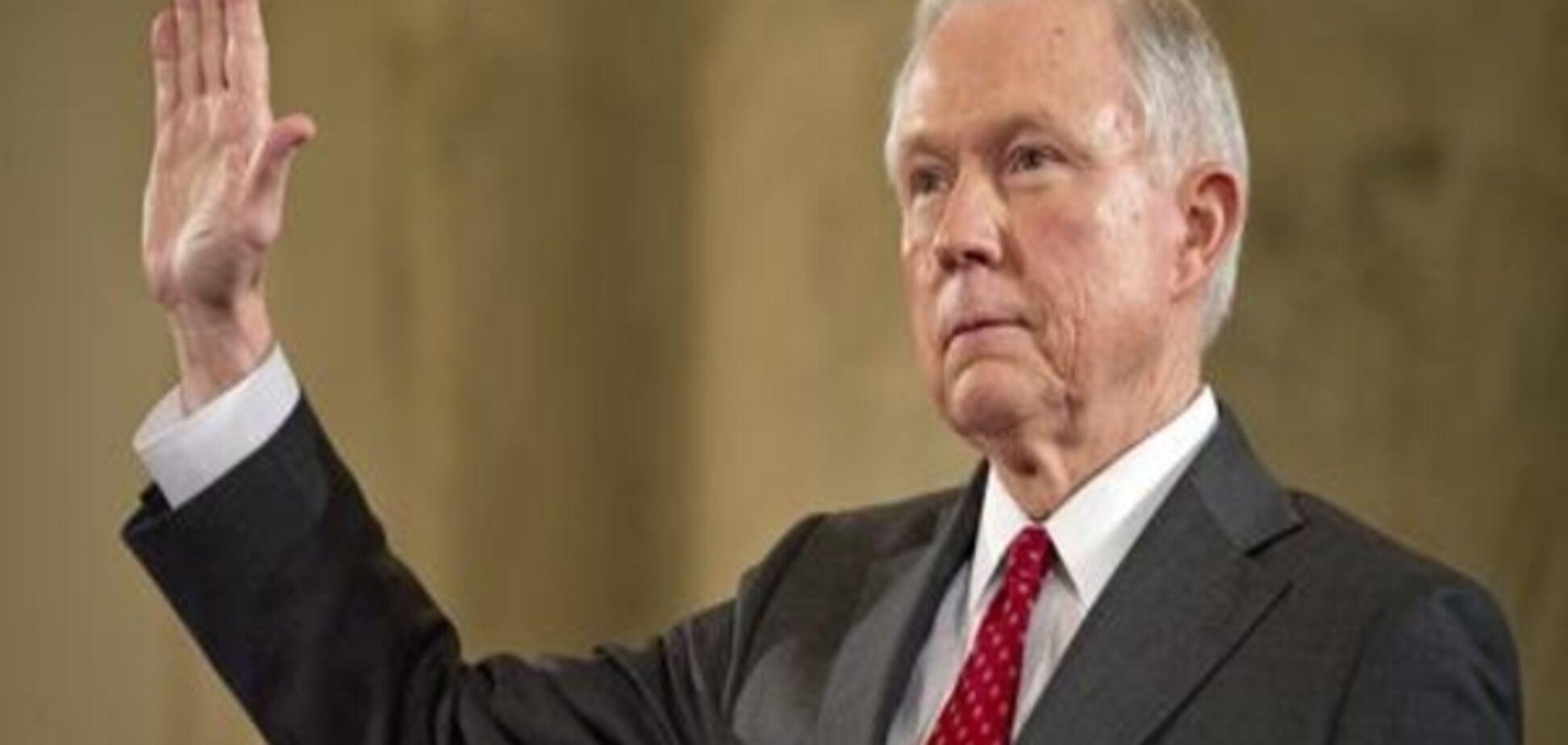 Сенат США затвердив сенатора Джеффа Сешнса новим генпрокурором