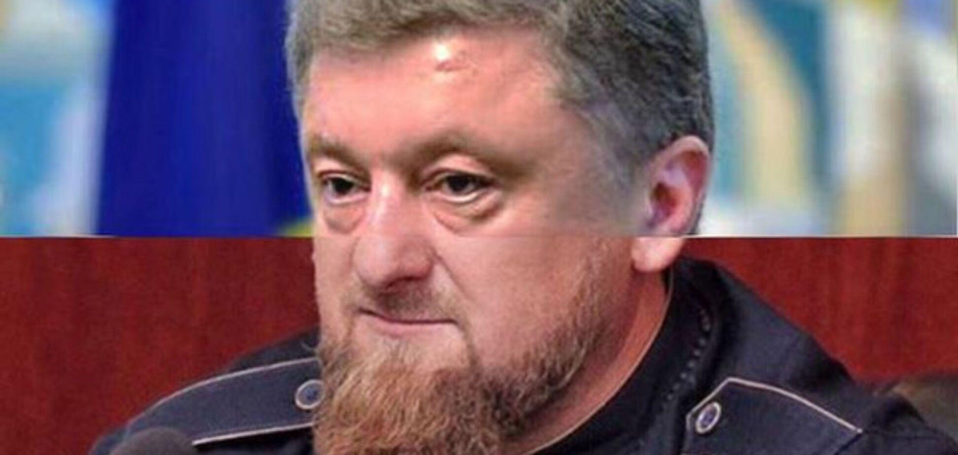 Кадыров Порошенко