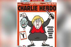 Меркель с отрезанной головой Шульца