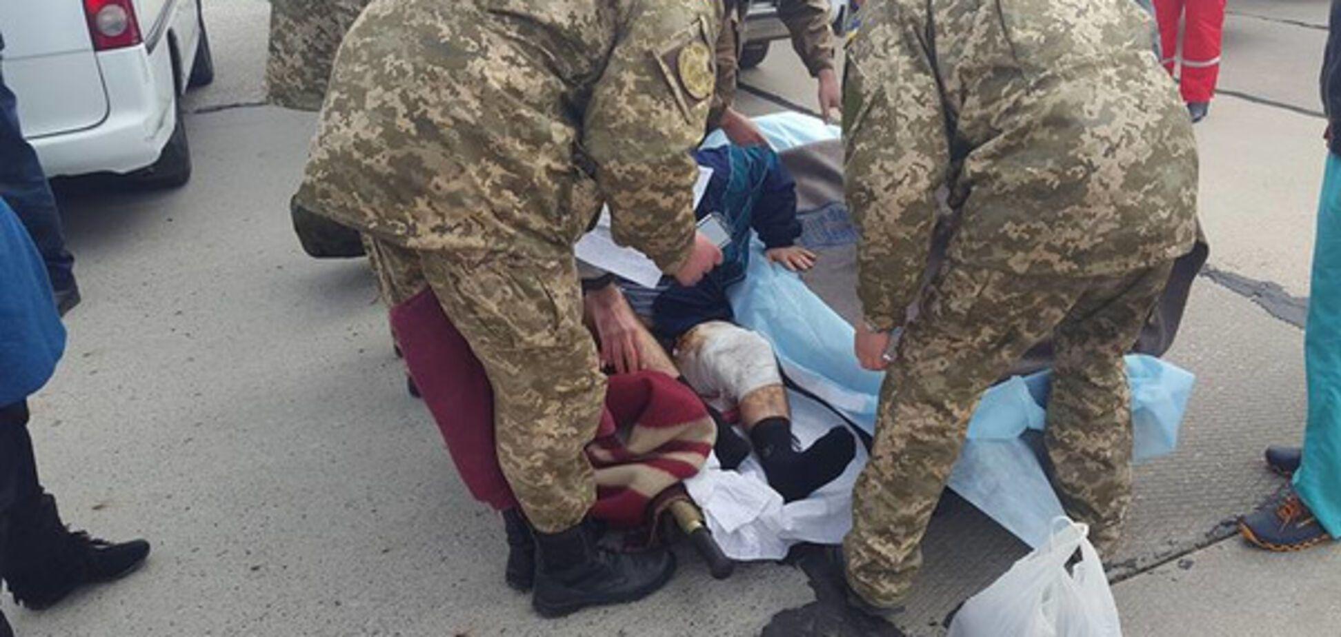 Раненый военный