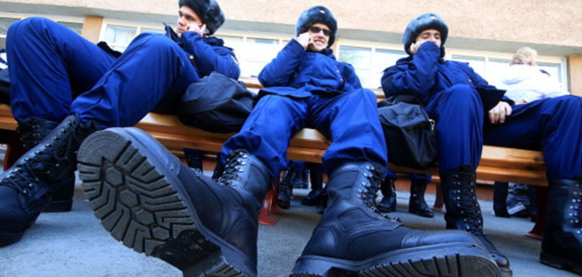 российские военные Крым