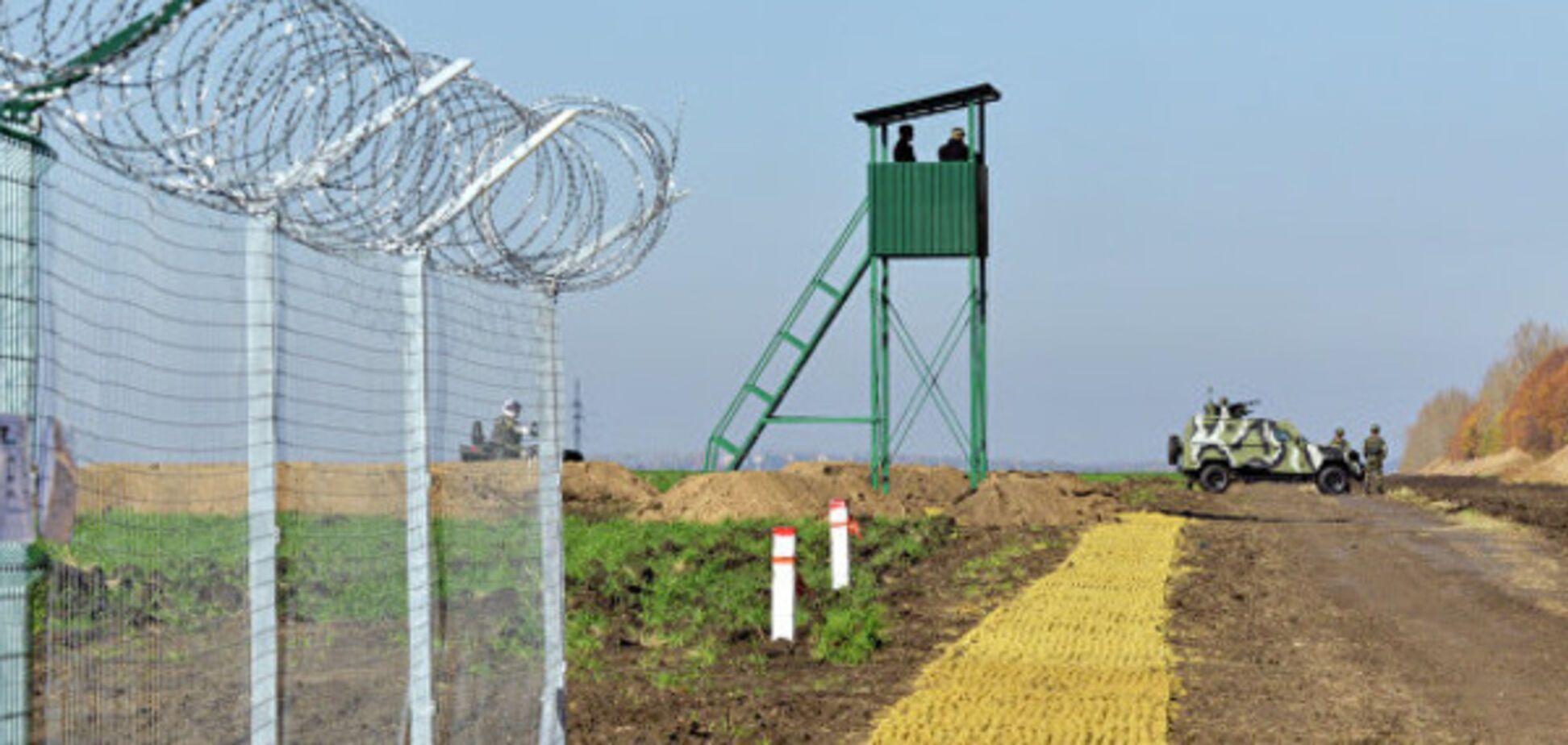 Стіна на кордоні з РФ