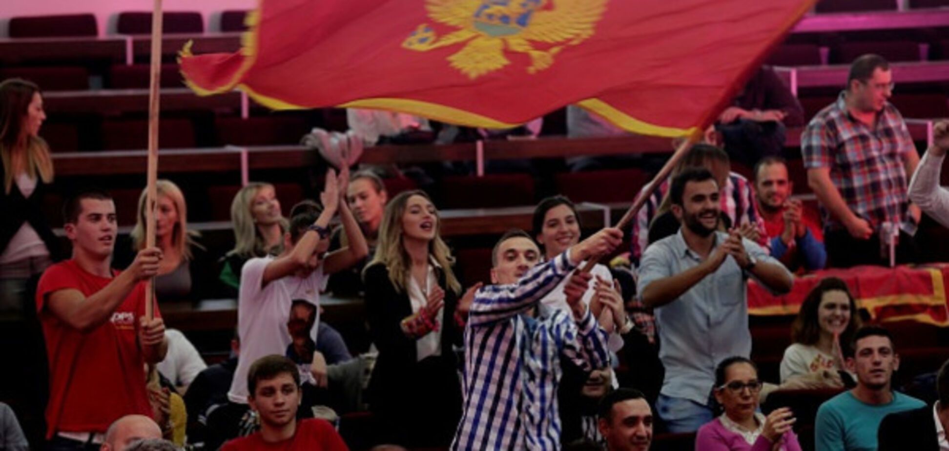 Чорногорія прапор