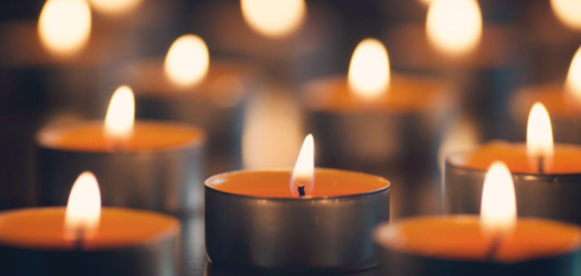 похоронная свеча