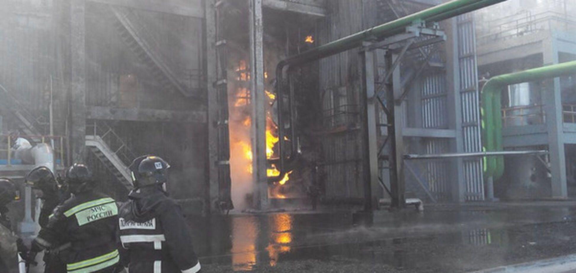 Пожар в Тольятти