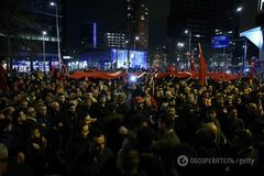 Протесты в Роттердаме