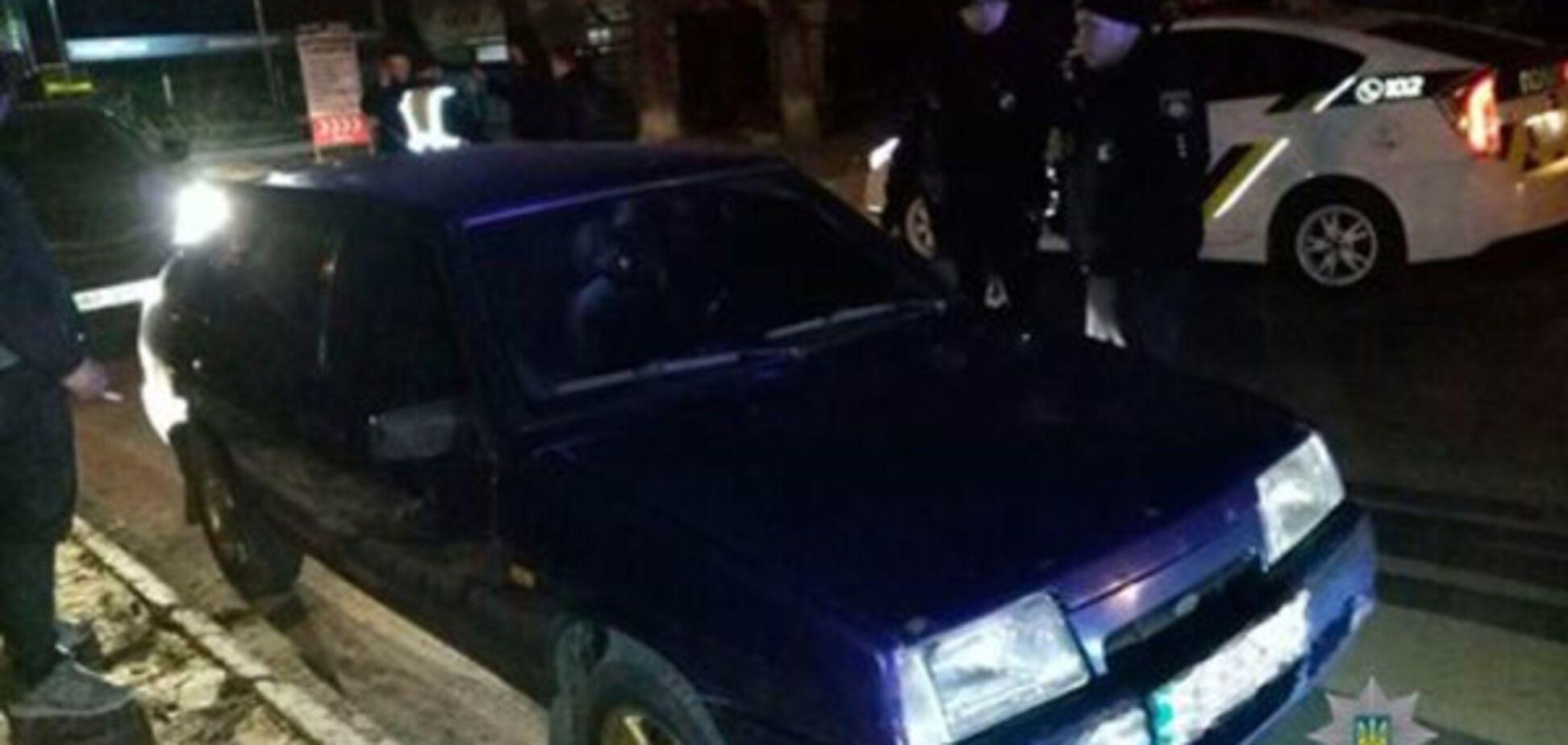 Жители Днепра совершили кражу в центре Запорожья