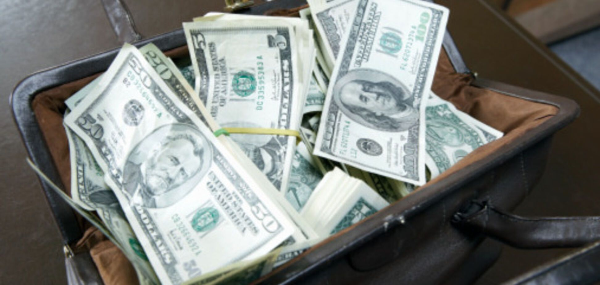 Сумка з грошима