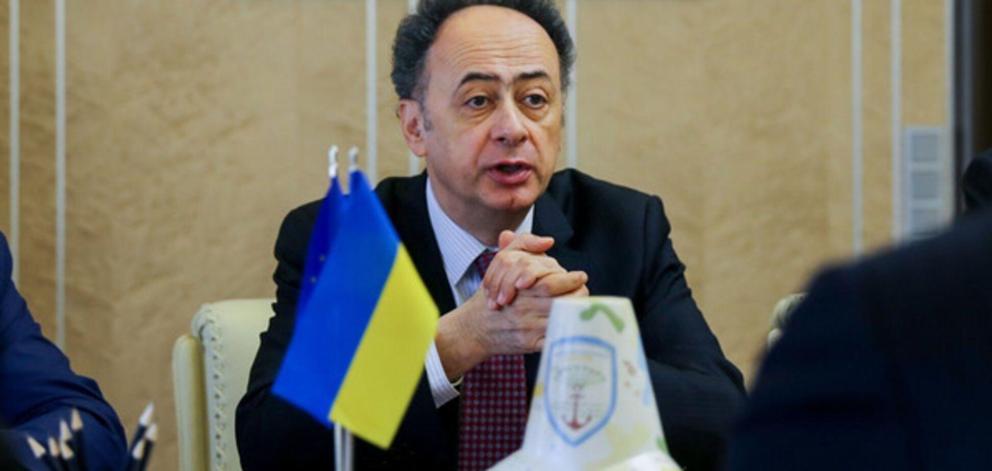 Глава представительства Европейского союза в Украине Хьюг Мингарелли
