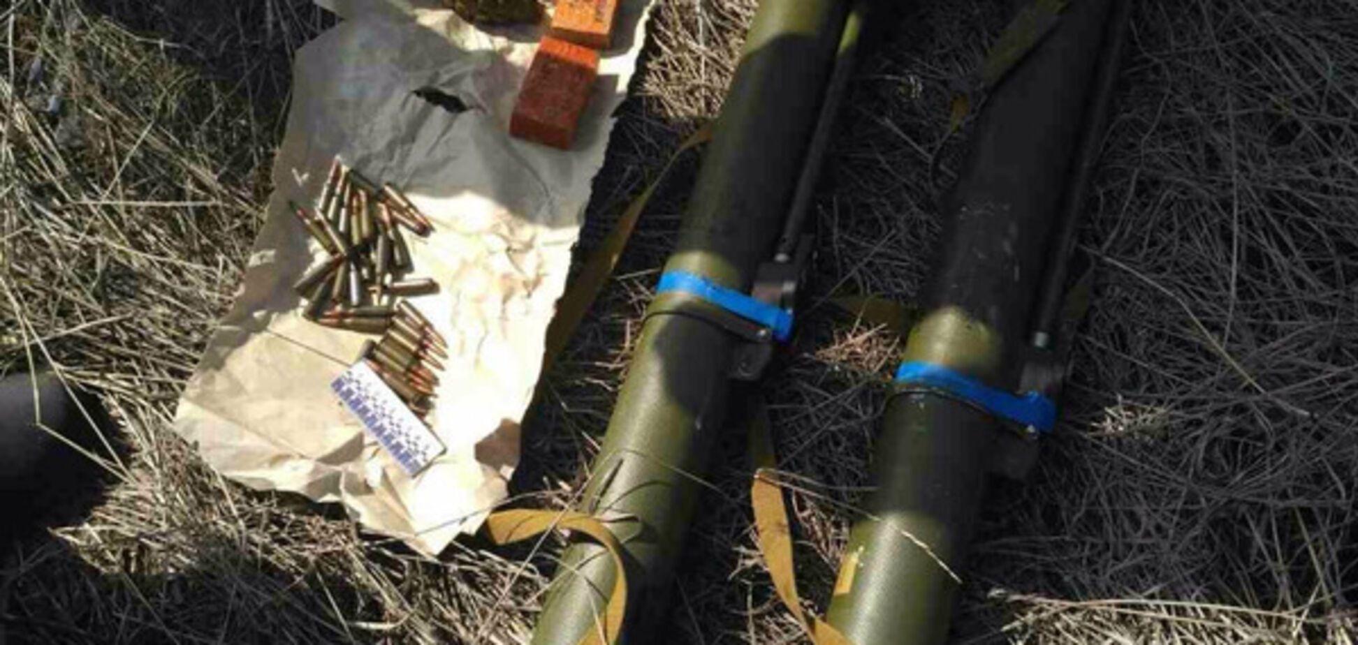 В Запорожской области обнаружили тайник со взрывчаткой (ФОТО)