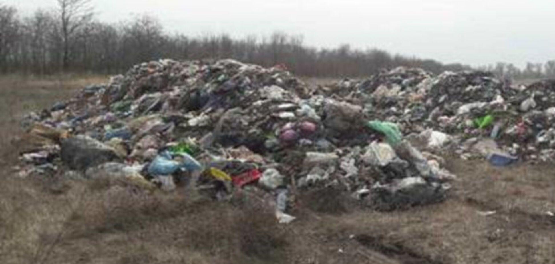 Завалы мусора