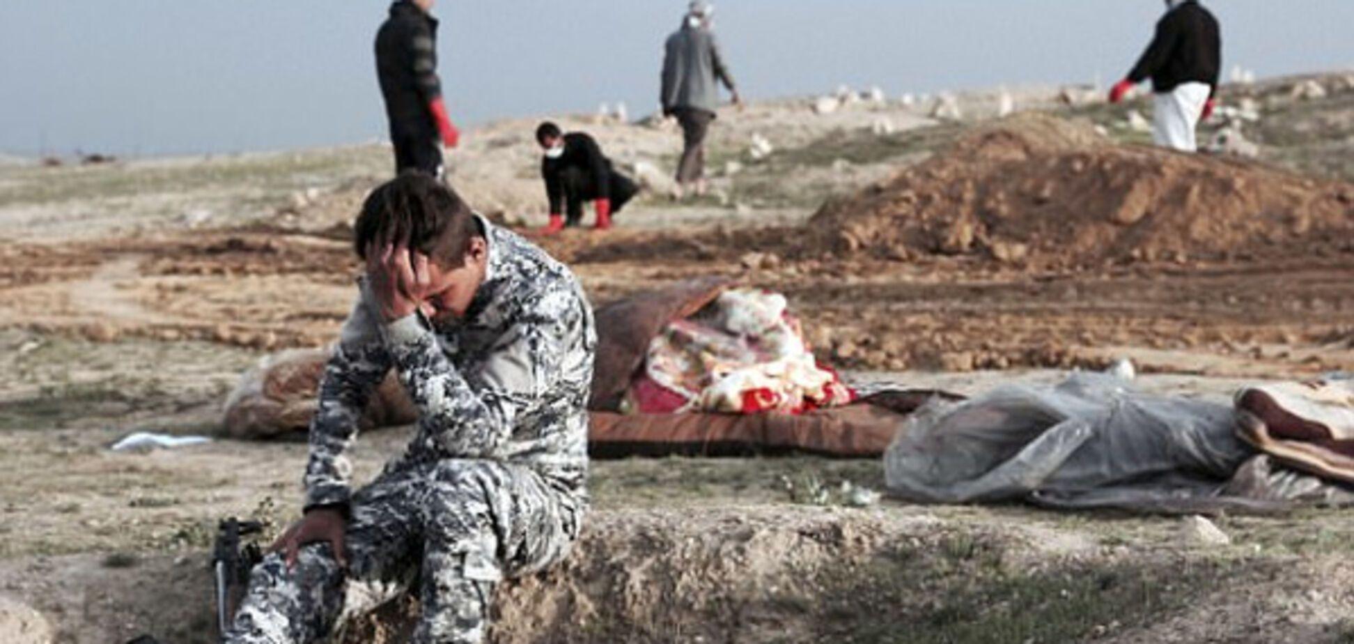 Убитий горем іракський солдат