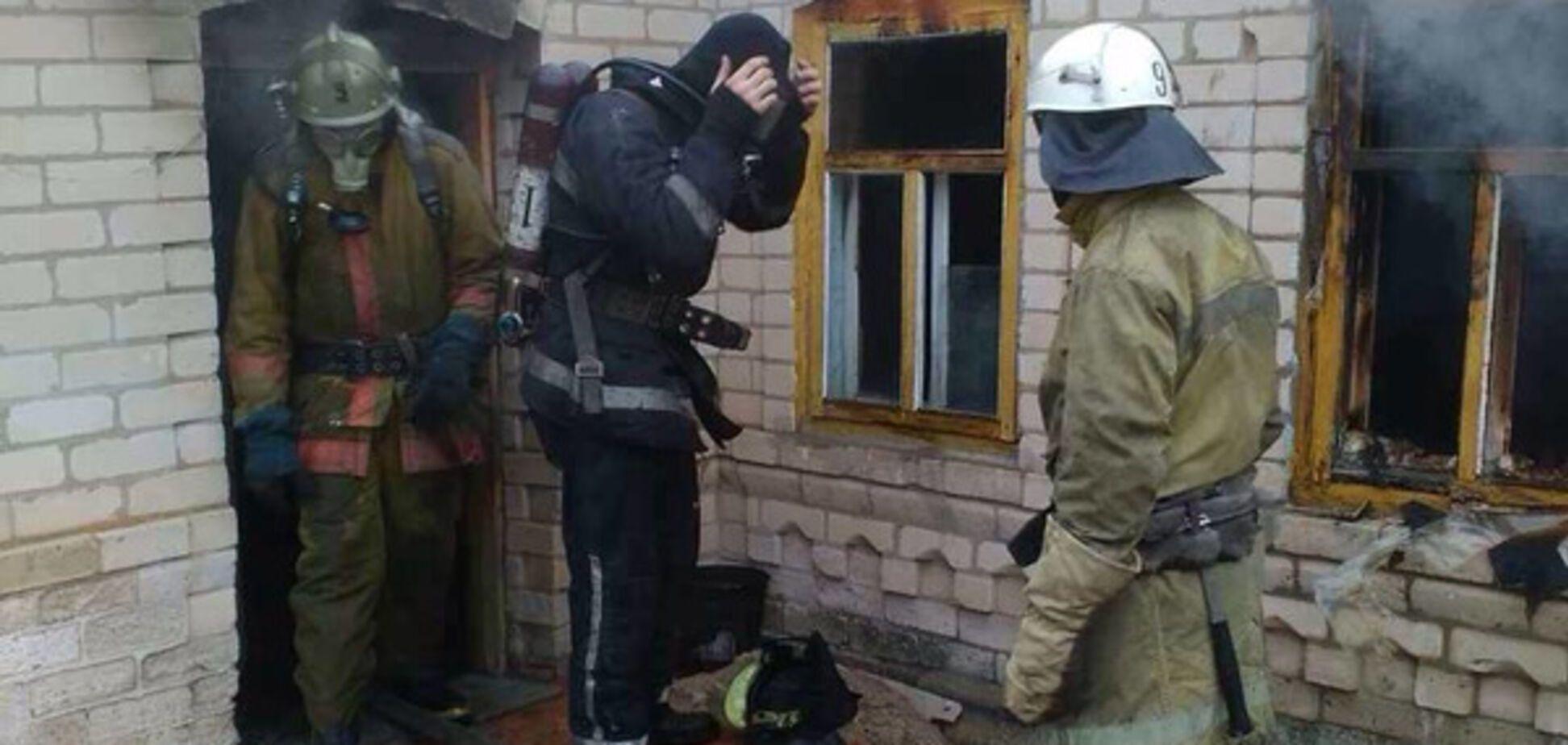 В Запорожской области произошел пожар с фатальными последствиями (ФОТО)