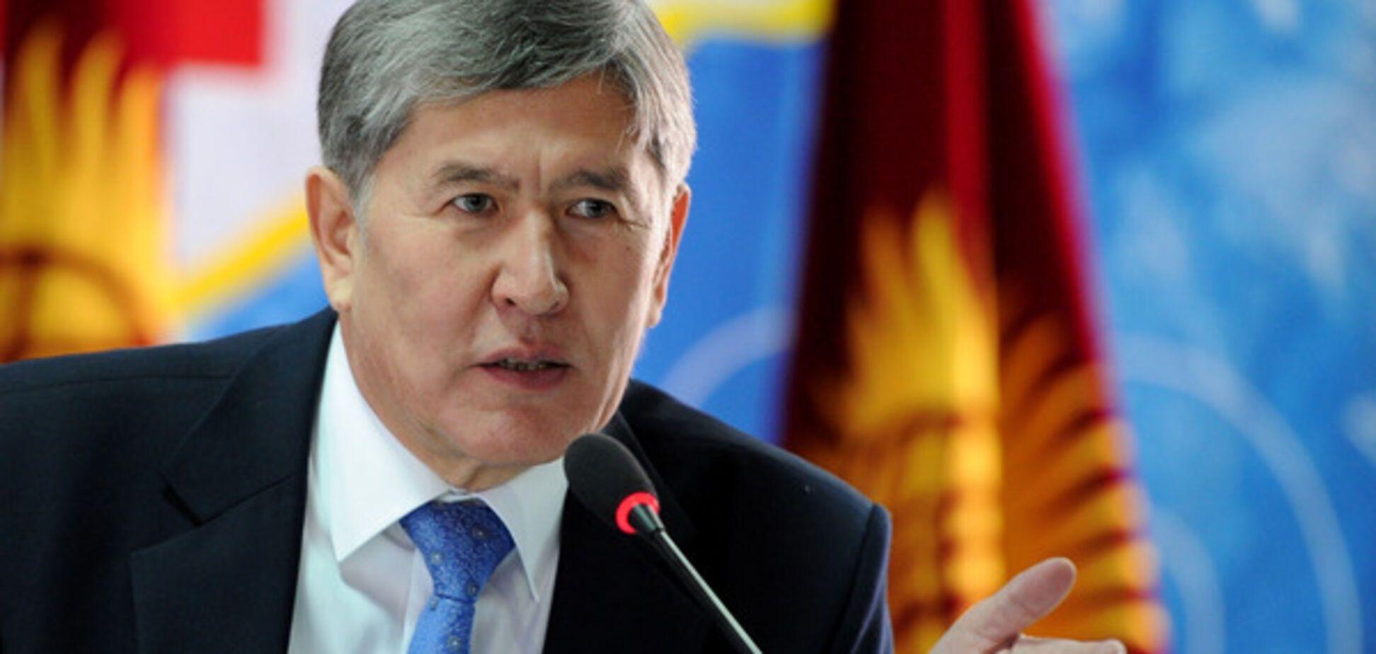 президент Кыргызстана Атамбаев